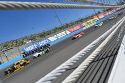Brendan Gaughan, Richard Childress Racing Chevrolet and Blake Koch, Kaulig Racing Chevrolet