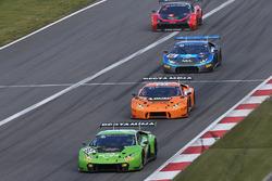 #82 GRT Grasser Racing Team Lamborghini Huracan GT3: Tom Dillmann, Rolf Ineichen
