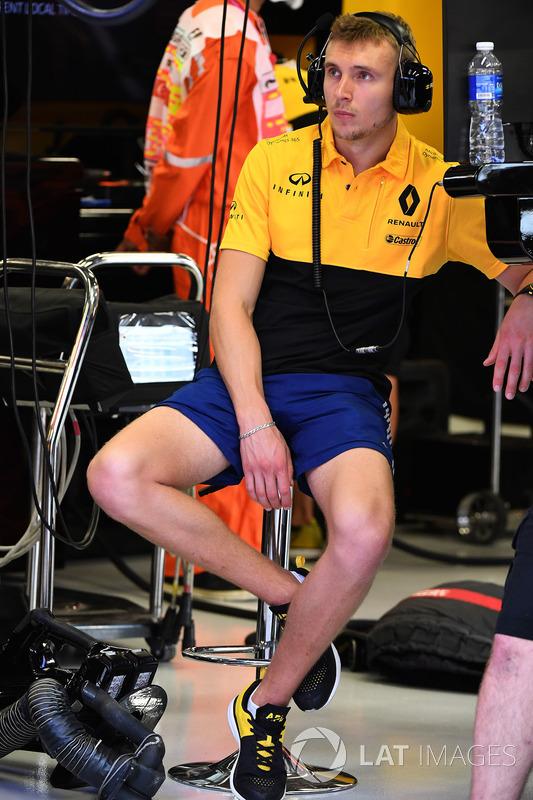 Sergey Sirotkin, Renault-Testfahrer