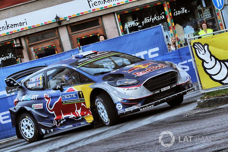 Себастьян Ож'є, Жюльєн Інграссія, Ford Fiesta WRC, M-Sport