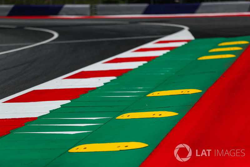 Kerbs and Track view