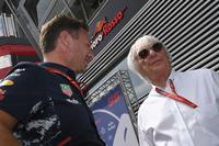 Dr Helmut Marko, Red Bull Motorsport Consultant and Bernie Ecclestone