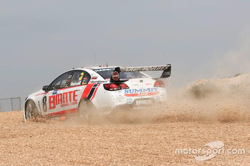 Ausritt: Nick Percat, Brad Jones Racing, Holden