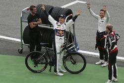 Mattias Ekström, EKS, Audi S1 EKS RX Quattro, Timo Scheider, MJP Racing Team Austria, Ford Fiesta ST