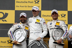 Podium: 1. Paul Di Resta, Mercedes-AMG Team HWA, Mercedes-AMG C63 DTM, 2. Timo Glock, BMW Team RMG, BMW M4 DTM, 3. Bruno Spengler, BMW Team RBM, BMW M4 DTM
