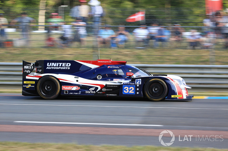 4. LMP2: #32 United Autosports, Ligier JS P217 Gibson