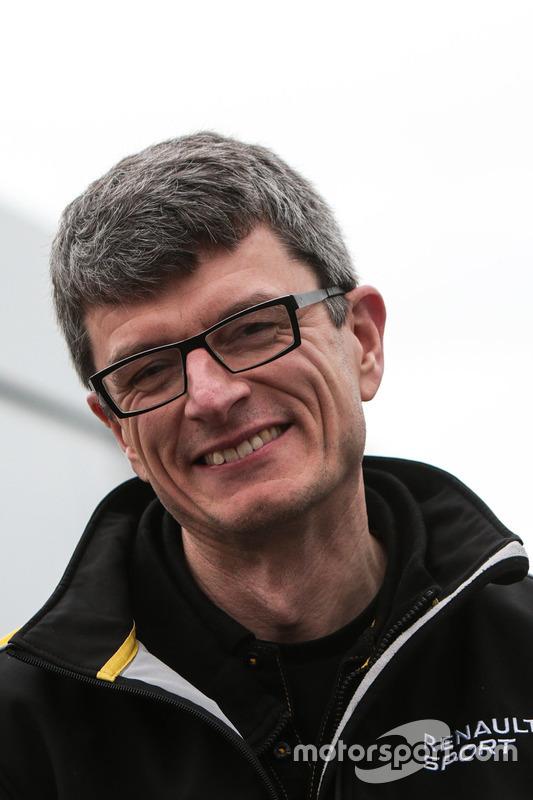 Chris Dyer, Renault Sport F1 Team