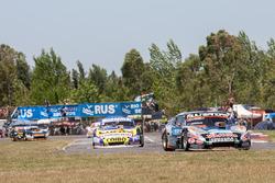 Christian Ledesma, Las Toscas Racing Chevrolet, Julian Santero, Dole Racing Torino, Josito Di Palma,