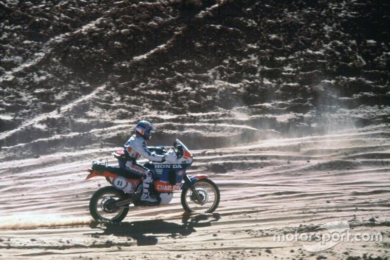 Cyril Neveu, Honda y Yamaha, 5 Dakar