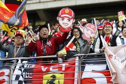 Steun voor Sebastian Vettel, Ferrari