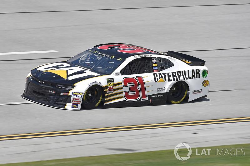 18. Ryan Newman, Richard Childress Racing, Chevrolet Camaro Caterpillar