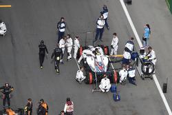 Sergey Sirotkin, Williams FW41 on the grid