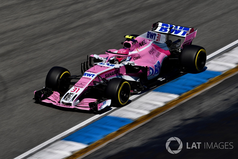 15. Esteban Ocon, Force India VJM11