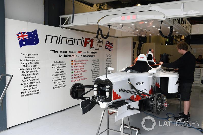 Çift koltuklu F1 deneyimi