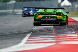 #19 GRT Grasser Racing Team Lamborghini Huracan GT3: Ezequiel Perez Companc, Andrea Caldarelli
