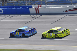 Ricky Stenhouse Jr., Roush Fenway Racing, Ford Fusion Fifth Third Bank, Ryan Blaney, Team Penske, Ford Fusion Menards/Richmond