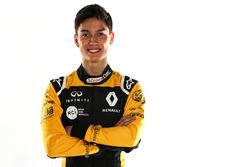 Jack Aitken, pilote de réserve Renault Sport F1 Team