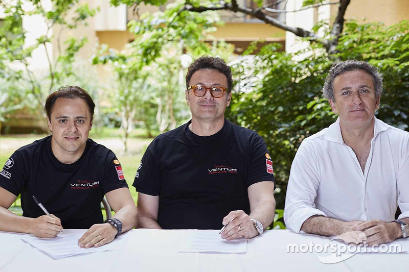 Felipe Massa firma con Venturi, Alejandro Agag