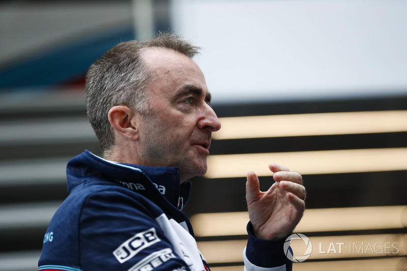 Paddy Lowe, Williams director técnico