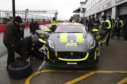 Stewart McCulley, Paul Vice, Matthew George Invictus Games Racing Jaguar F-TYPE SVR GT4