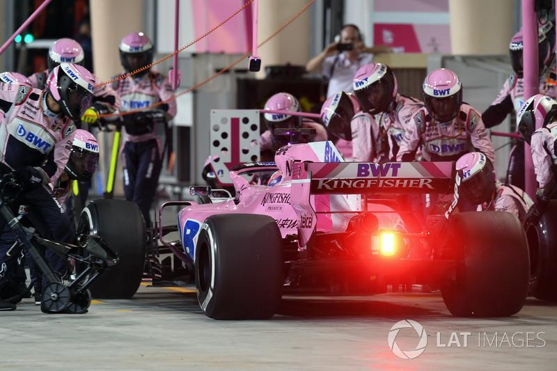 16e : Sergio Pérez (Force India)