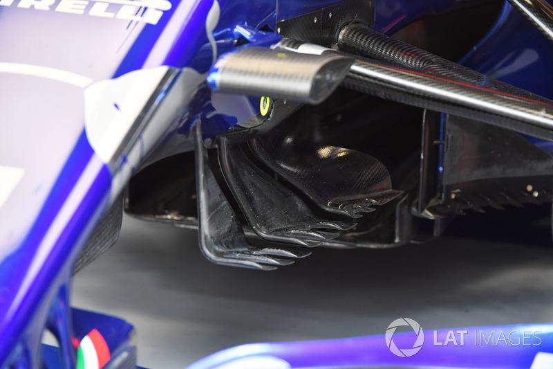 Аеродинамічні елементи Scuderia Toro Rosso STR13