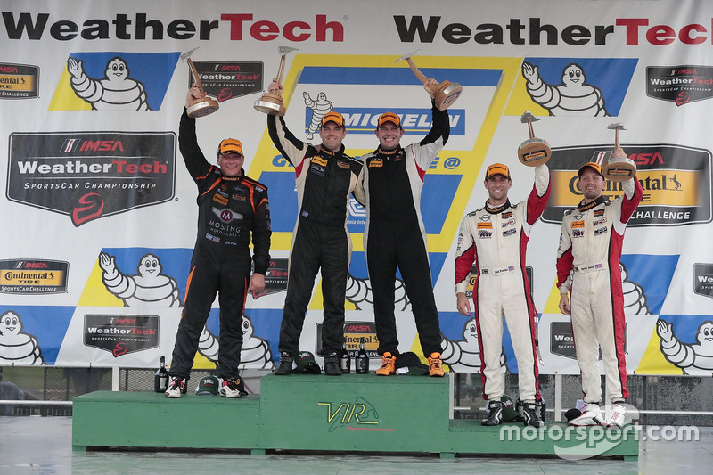 ST Class Podium: first place Chad Gilsinger, Ryan Eversley, HART, second place Jeff Mosing, Eric Fos