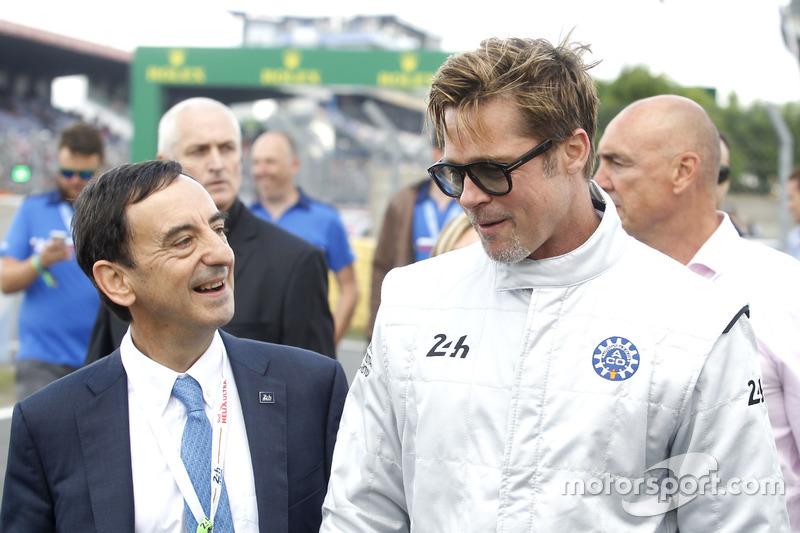 Brad Pitt y Pierre Fillon, Presidente de la ACO