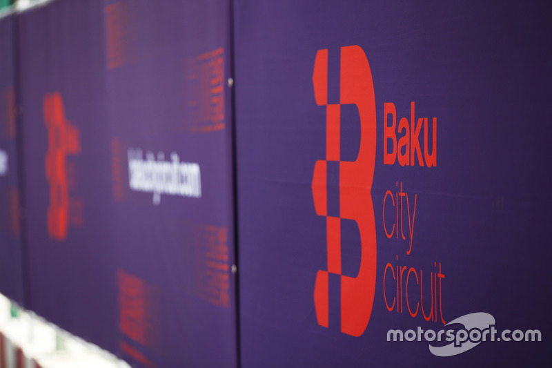 Logotipo de circuito de la ciudad de Bakú
