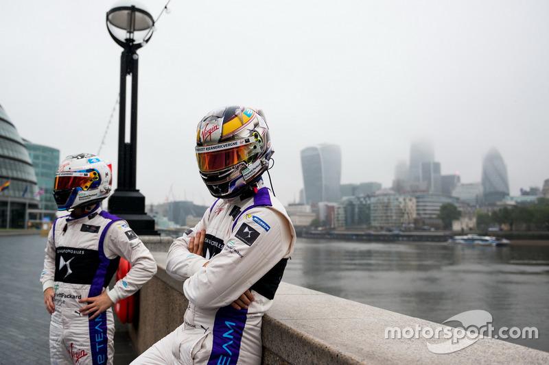 Jean-Eric Vergne and Sam Bird, DS Virgin Racing