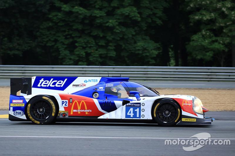 #41 Greaves Motorsport Ligier JSP2 Nissan: Мемо Рохас, Жюльєн Каналь, Якуб Гіермазік