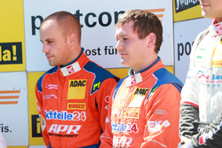 Podium: #24 kfzteile24 - APR Motorsport, Audi R8 LMS: Florian Stoll, Laurens Vanthoor