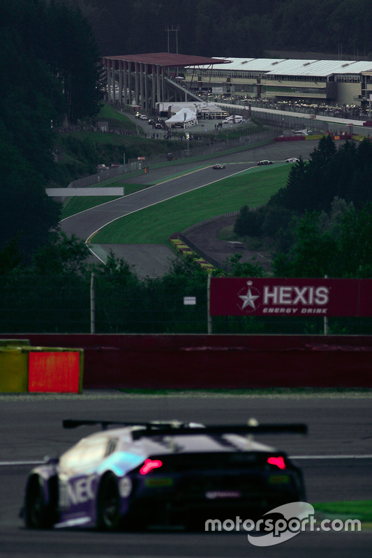 The  background with the Bus stop chicane