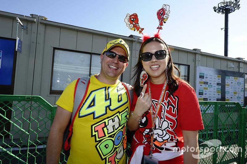 Fans of Valentino Rossi, Yamaha Factory Racing, Marc Marquez, Repsol Honda Team