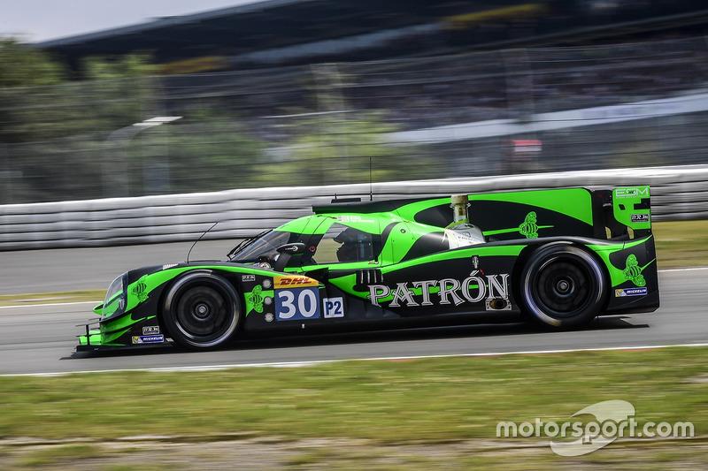 9. LMP2: #30 Extreme Speed Motorsports, Ligier JS P2 - Nissan: Scott Sharp, Ed Brown, Johannes van Overbeek
