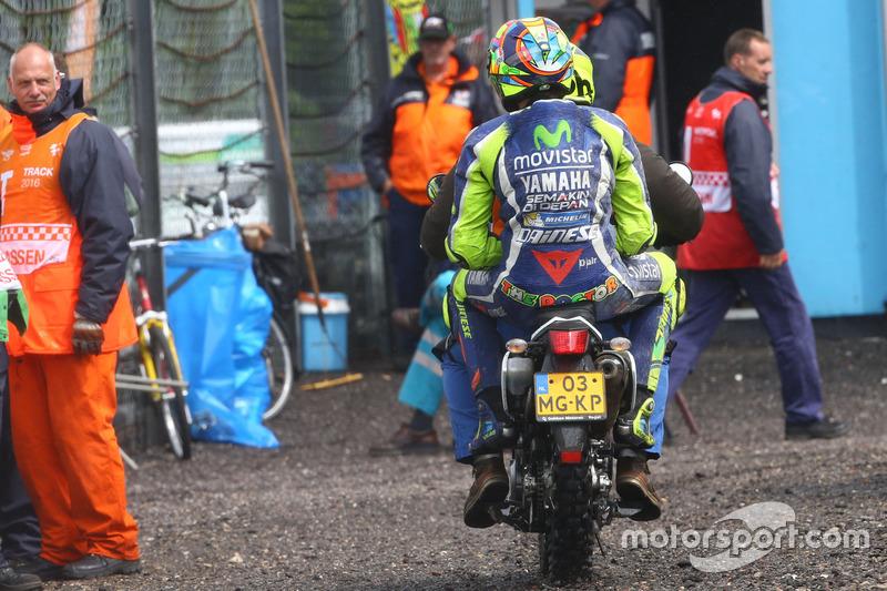 Valentino Rossi – Sturz:
