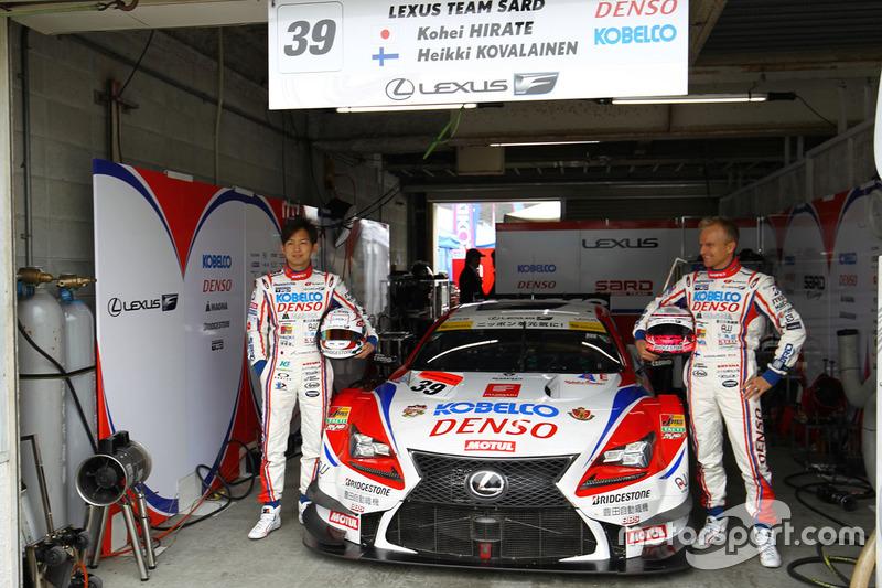 #39 Lexus Team Sard Lexus RC F: Kohei Hirate, Heikki Kovalainen