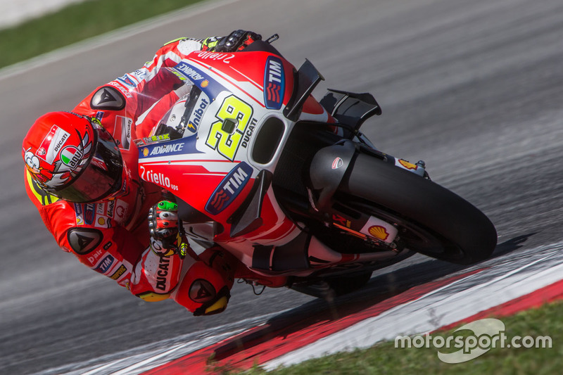 Andrea Iannone (Ducati): Startnummer 29