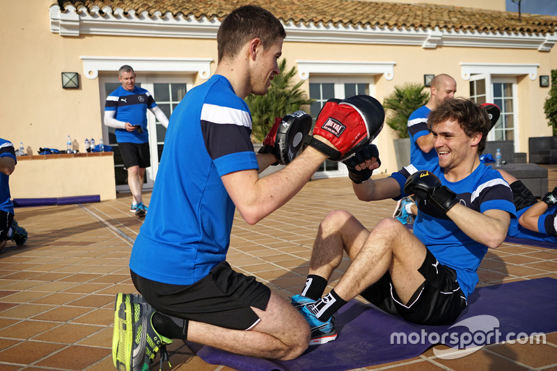 Paul di Resta and Lucas Auer, Mercedes-AMG DTM Team HWA AG