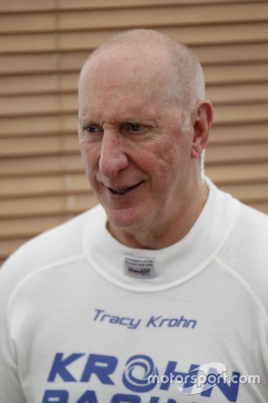 #40 Krohn Racing Ligier JS P2 Nissan: Трейсі Крон
