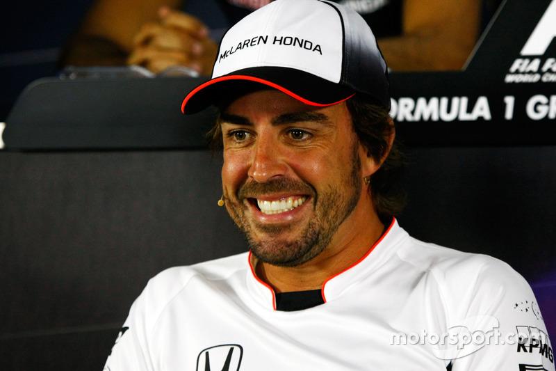 Фернандо Алонсо, McLaren, прес-конференція