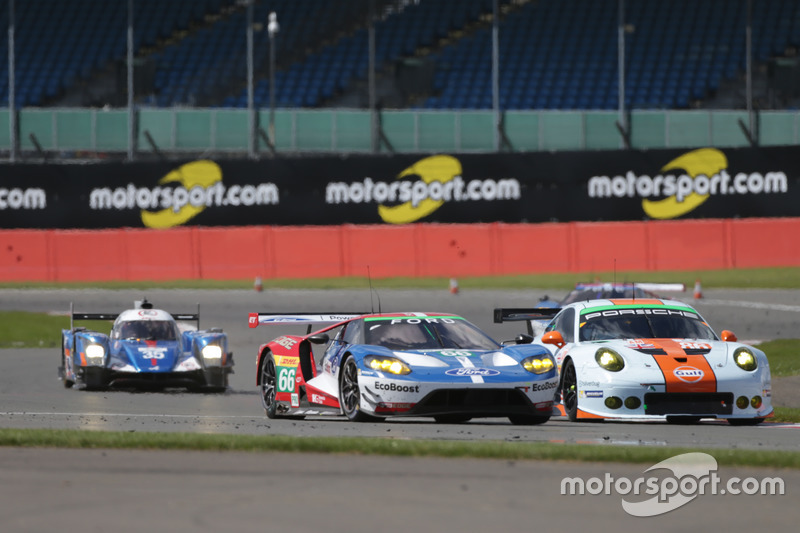 William Johnson, Stefan Mücke, Oliver Pla, #66 Ford Chip Ganassi Team UK Ford GT