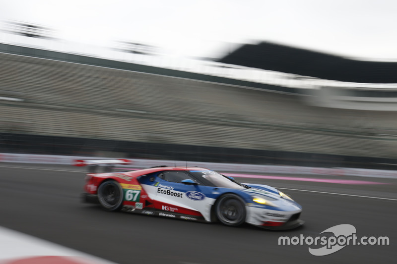 #67 Ford Chip Ganassi Racing Team UK Ford GT: Marino Franchitti, Andy Priaulx, Harry Tincknell