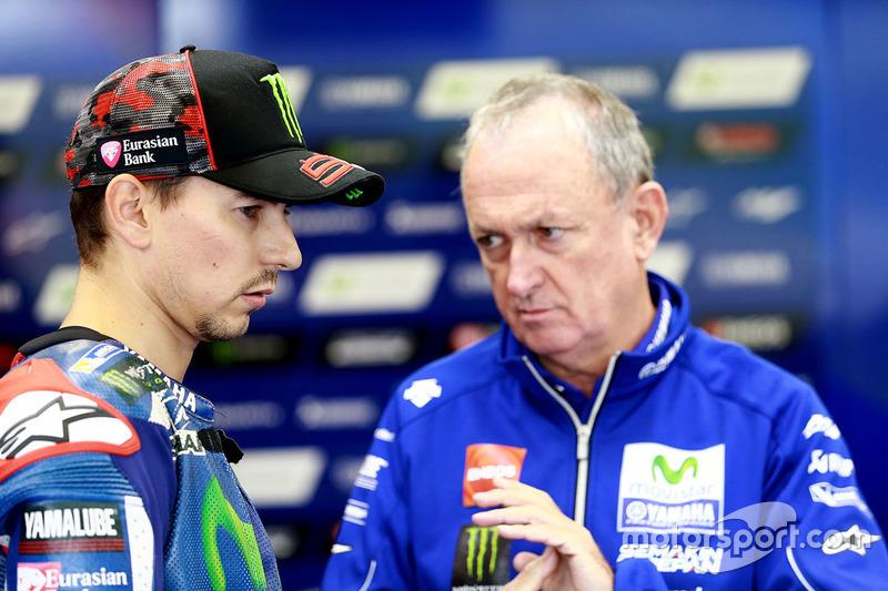 Jorge Lorenzo, Yamaha Factory Racing and Ramo Forcada