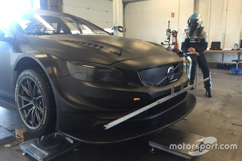 Robert Dahlgren, Volvo S60 Polestar TC1 test car