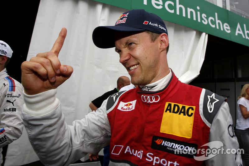 Pole: Mattias Ekström, Audi Sport Team Abt Sportsline, Audi A5 DTM