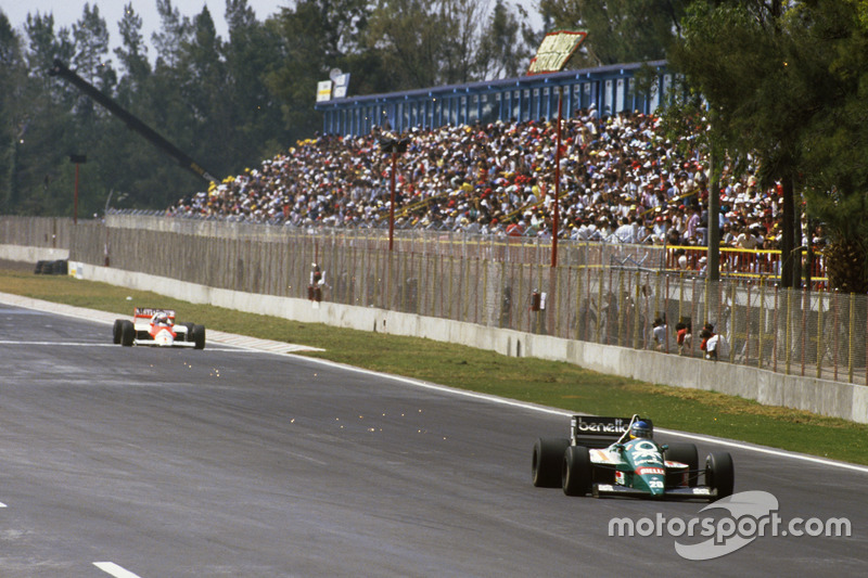 Gerhard Berger, Benetton, Alain Prost, McLaren