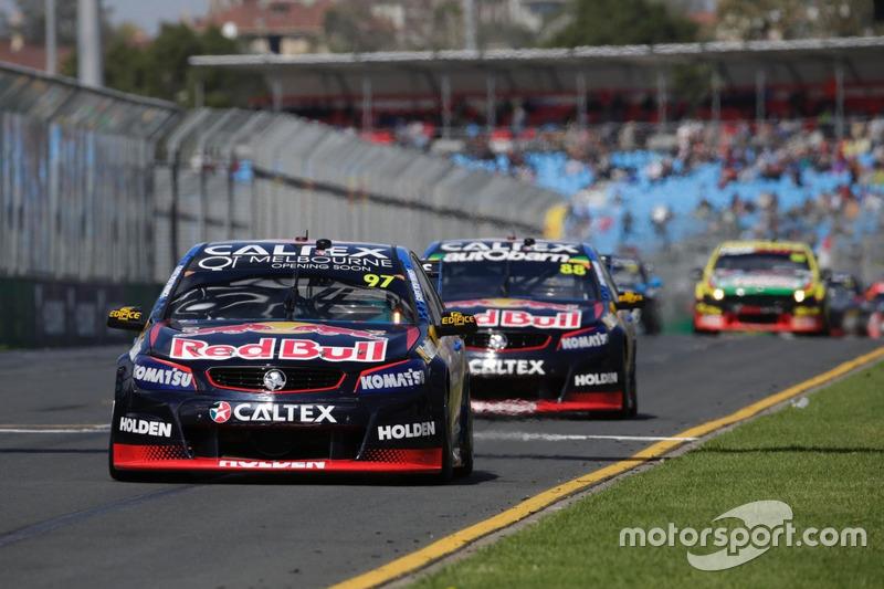 Shane van Gisbergen, Triple Eight Race Engineering Holden and Jamie Whincup, Triple Eight Race Engin