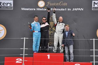 Masters Historic Formula 1 in Japanのレース2、表彰台