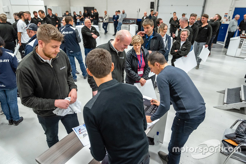 Sébastien Ogier, Julien Ingrassia, M-Sport, festeggiano